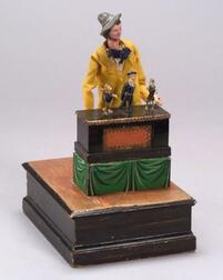 Early Manivelle of an Organ Grinder and his Dancing Automata