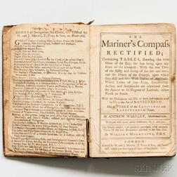 Wakely, Andrew (fl. circa 1700) The Mariner's Compass Rectified.