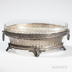 German .800 Silver Center Bowl
