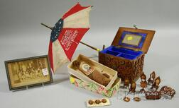 Four U.S. Political Collectibles and Ephemera Items