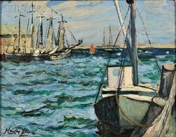 Hayley Lever (American, 1875-1958)      At Nantucket, Mass.
