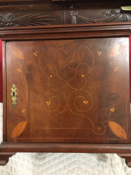 Walnut Line and Berry-inlaid Spice Chest