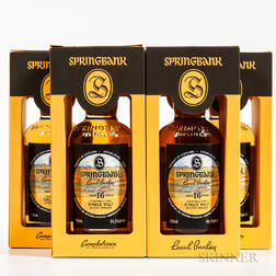 Springbank Local Barley 16 Years Old 1999, 4 750ml bottles (oc)