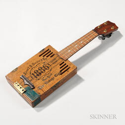 Sam'l D. Davis Cigar Box Ukulele.     Estimate $200-250