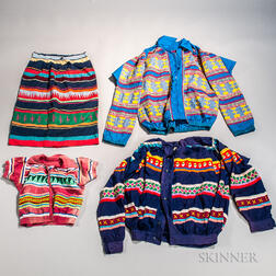 Four Items of Seminole Clothing