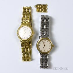 Two Omega Lady's Wristwatches