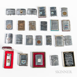 Twenty-four Vietnam War Lighters