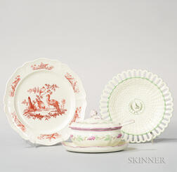 Three Wedgwood Queen's Ware Items