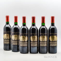 Chateau Palmer 1989, 6 bottles