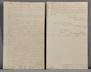 Document, West Roxbury, Massachusetts (1777).