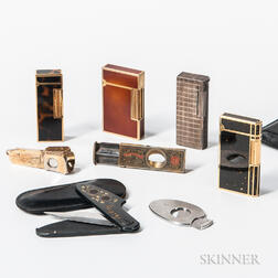 Group of Smoking Items