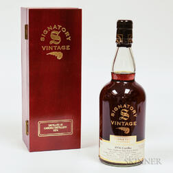 Cardhu 26 Years Old 1974, 1 750ml bottle (owc)