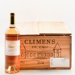 Chateau Climens 2012, 6 bottles (oc)