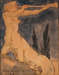 Attributed to Emile-Antoine Bourdelle (French, 1861-1929)    L'Appel Nocturne