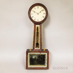 "New England Patent Timepiece or ""Banjo"" Clock"