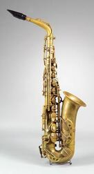 French Alto Saxophone, Selmer, Paris, 1948, Model Super Action, Serial Number 37349
