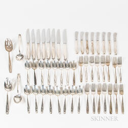 Reed & Barton Sterling Silver Partial Flatware Service