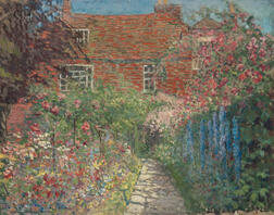 Arthur Franklyn Musgrave (American, 1878-1969)      Cottage Garden