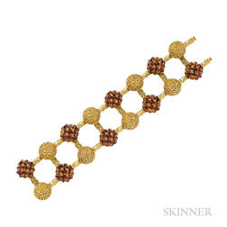 18kt Gold and Citrine Bracelet, Pomellato
