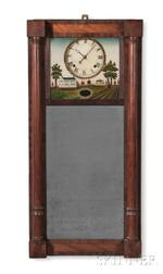 Joseph Ives Patented Looking Glass Wall Clock