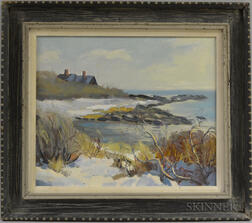 Bob Nally (American, 1938-1990)      Brace's Cove, Cape Ann, Mass.
