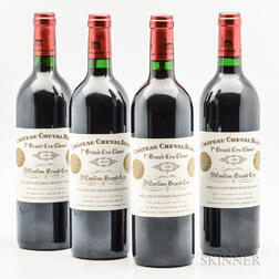 Chateau Cheval Blanc 1999, 4 bottles