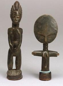 Two African Wood Carvings