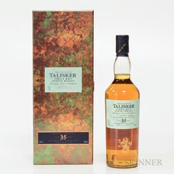 Talisker 35 Years Old 1977, 1 70cl bottle (pc)