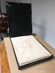 Collection of 1880s Boston Meigs Elevated Railway Blueprints.     Estimate $200-300
