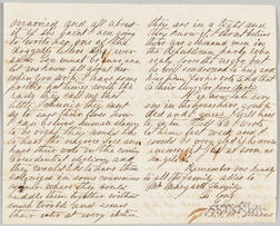 Letter from T.P. McStearns, August 30, 1868