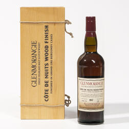 Glenmorangie Cotes de Nuits 25 Years Old 1975, 1 750ml bottle (owc)