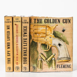 Fleming, Ian (1908-1964) Four First Edition Works.