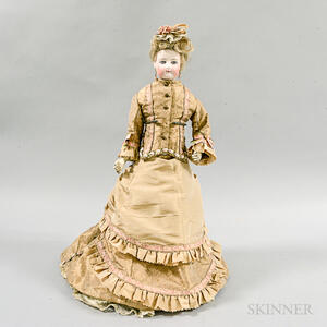 Bisque French Fashion Doll