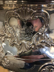Victorian Sterling Silver Punch Bowl