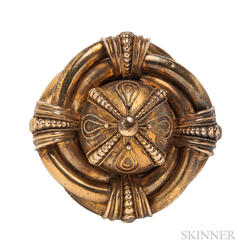 Antique Etruscan Revival Brooch