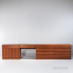 Two Worst Mobler Chests of Drawers with Vanity