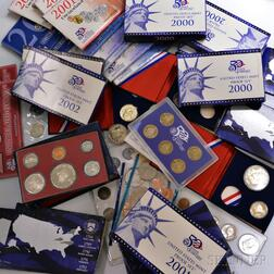 Thirty-eight Mostly U.S. Mint Sets