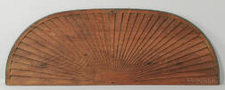 Carved Architectural Over-door Fan