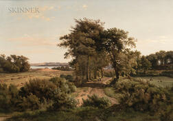 Louis Gurlitt (German, 1812-1897)      Landscape with River
