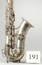 Modern American Alto Saxophone, Martin Band Instrument Company, Elkhart, 1920