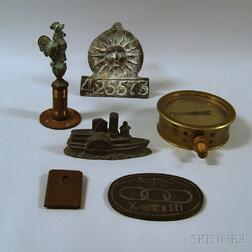 Group of Decorative Metal Objects
