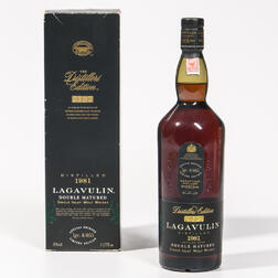 Lagavulin Distillers Edition 1981, 1 liter bottle (oc)