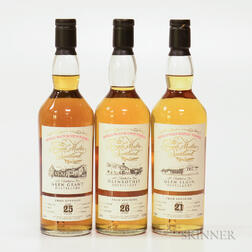 Mixed Single Malt Scotch, 3 70cl bottles