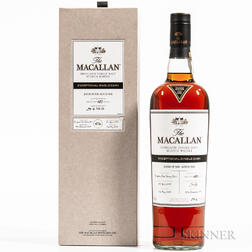 Macallan Exceptional Single Cask 13 Years Old 2005, 1 750ml bottle (oc)