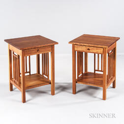 Pair of Thomas Moser Nightstands