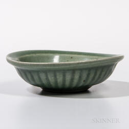 "Celadon-glazed ""Twin Fish"" Dish"