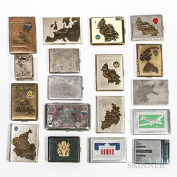 Group of Post-World War II Occupation Cigarette Cases