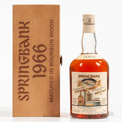 Springbank Local Barley 30 Years Old 1966, 1 750ml bottle (owc)
