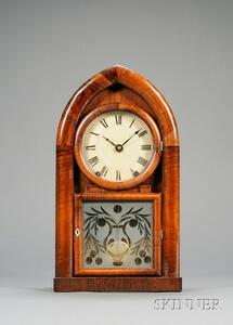 Mahogany Beehive Clock by Brewster and Ingrahams