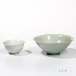 Two Qingbai-glazed Bowls